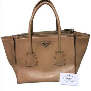 0c851ea3200a Prada Bags | New Italian Calf Leather Gray Bauletto Bag | Poshmark